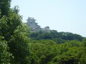 外からの姫路城